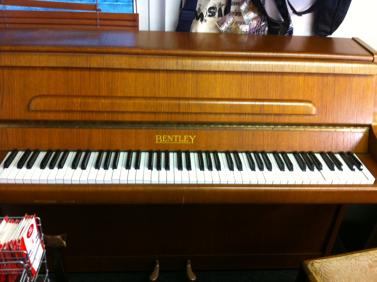 Bentley Piano Mahogany