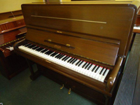 Berry Upright Piano Dark Walnut