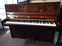 Bohemia Upright Piano 118