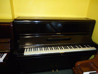 Challen Upright Piano Black Satin