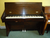 Challen Upright Piano Dark Rosewood
