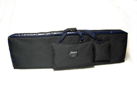 Classenti CKB10 Keyboard Bag Front View Showing Pockets