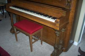 Elburn Upright Piano