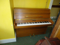 Kemble 6 Octave Upright Piano Mahogany