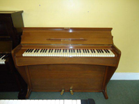 Melodelle 6 Octave Upright Piano Walnut