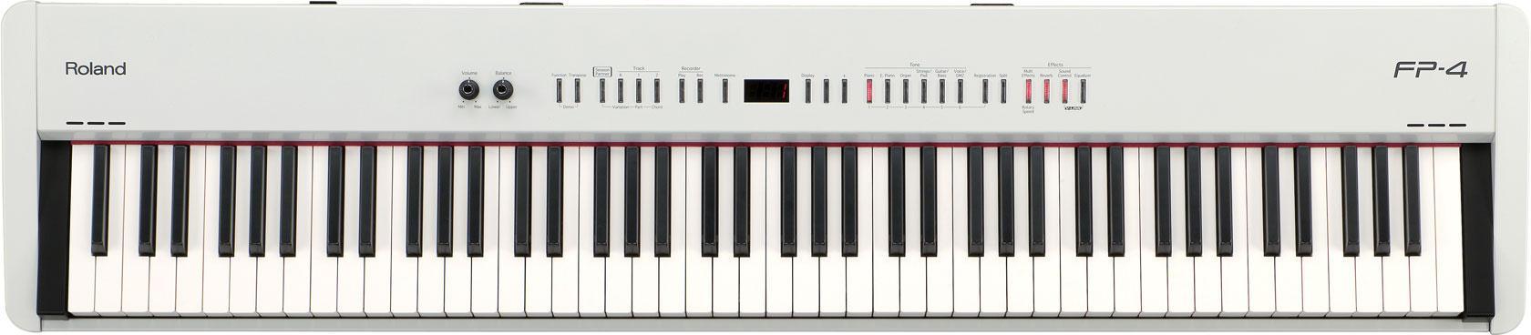 Roland FP-4F White