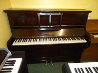 Strohmenger Upright Piano Dark Rosewood