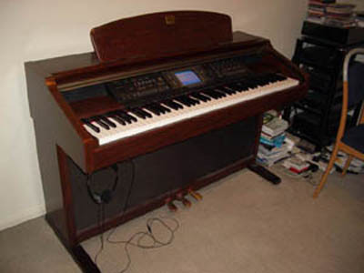 Yamaha clavinova cvp206 for Used yamaha clavinova cvp for sale