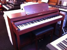 Yamaha Digital Pianos in our showroom