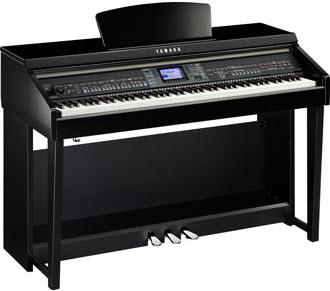 Yamaha CVP601 polished ebony