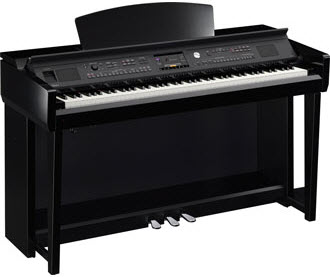 Yamaha CVP705 polished ebony