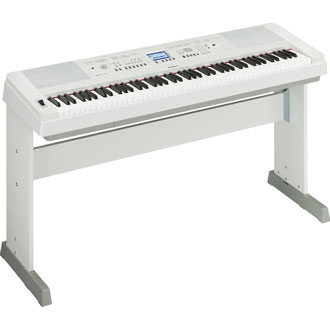 Yamaha DGX650 White