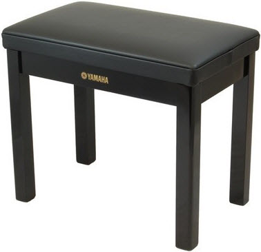 Yamaha GTB Deluxe Piano Stool polished ebony