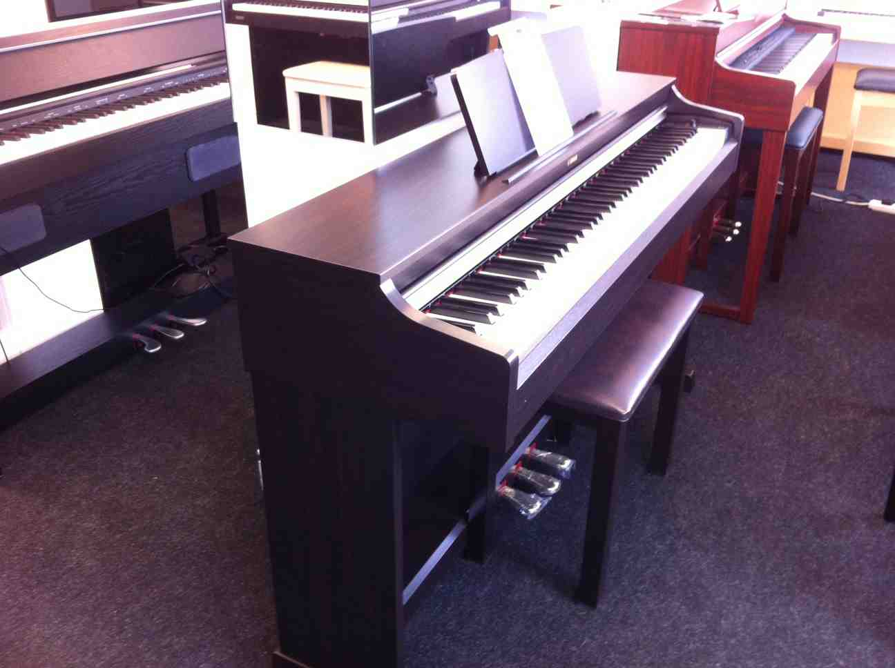 Yamaha YDP162 on display in our showroom