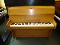 Zender 6 Octave Upright Piano Teak