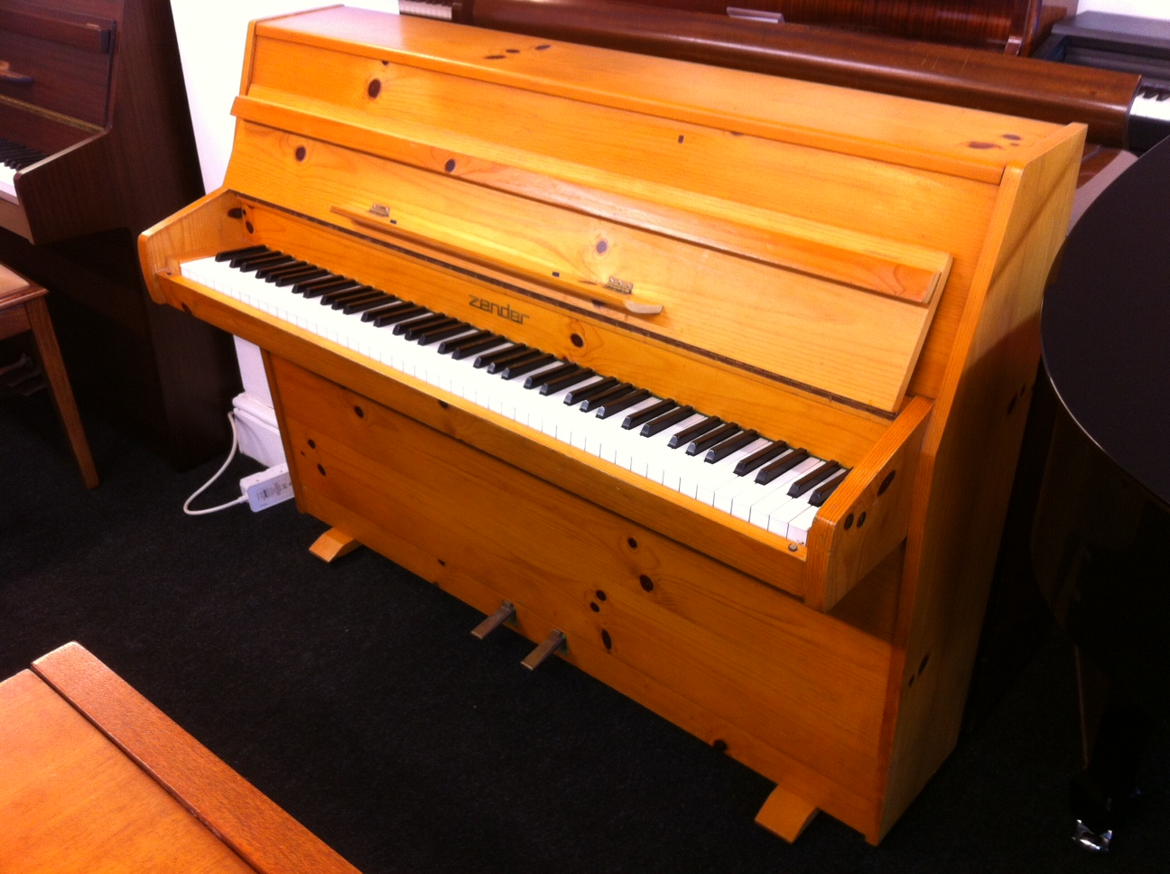 Second Hand Zender Upright Piano