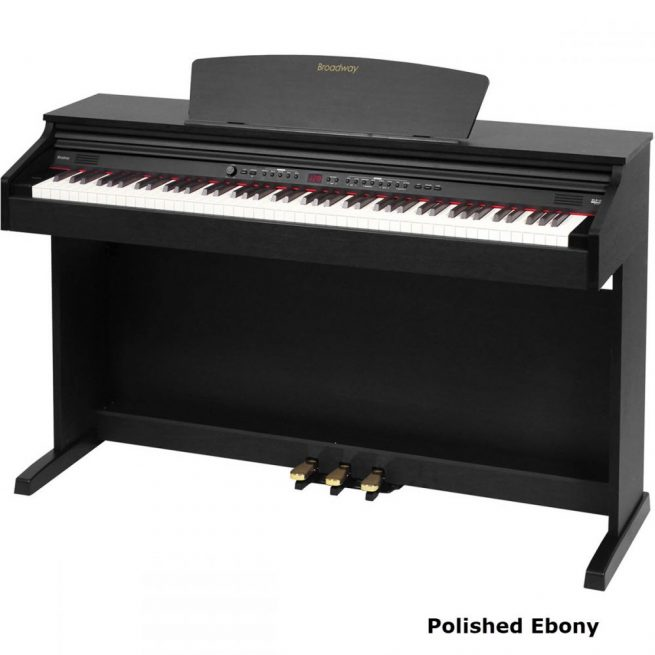 Broadway EZ-102 Polished Ebony