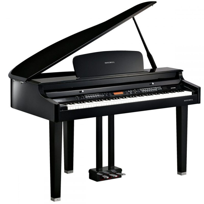 Kurzweil MPG100 Polished Ebony Piano